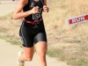 Bryn Morales finished with the fastest time for the women