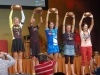 Diana Hassel (middle) of Fort Collins places third in F45-49