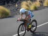 Mirinda Carfrae catches a tailwind on the bike