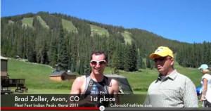 Brad Zoller, Kelley Cullen Win XTERRA Indian Peaks