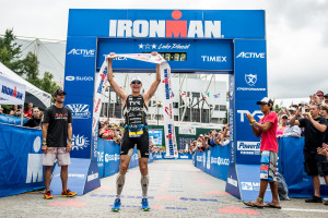 Andy Potts Defends Title at 2013 Ironman Lake Placid