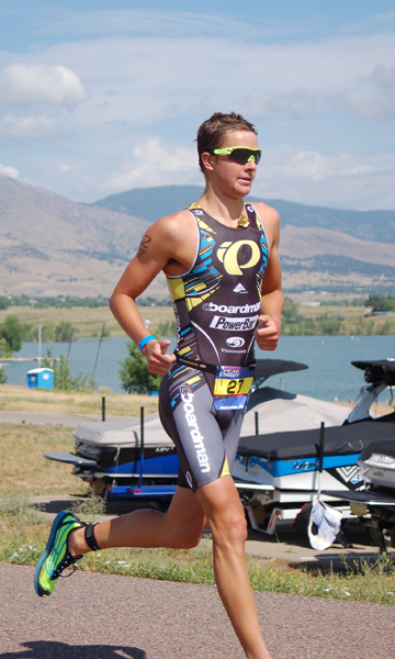Drew Scott at the 2013 Boulder Peak Triathlon