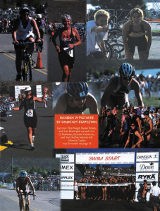 Danskin Triathlon Photo Collage