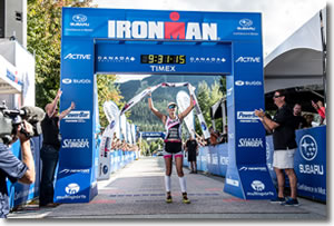 Boulder's Uli Bromme Claims First Ironman Victory at Canada