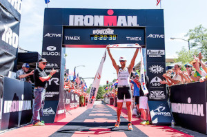 First Time Wins at Boulder's First Ironman
