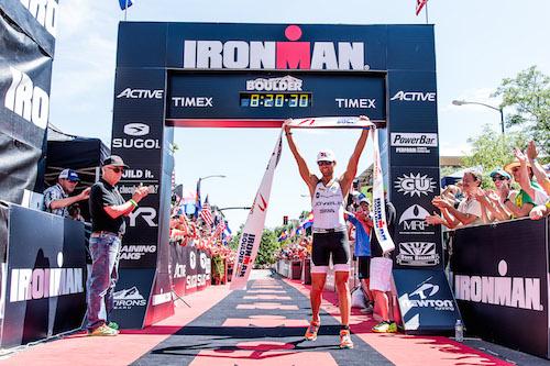 Justin Daerr wins Ironman Boulder