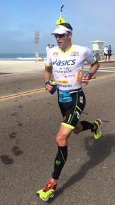 Andy Potts finishes second at Ironman 70.3 California