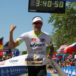 Andy Potts wins Ironman 70.3 New Orleans (image: Ironman.com)
