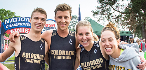 Colorado won Saturday's Mixed Team Relay and their sixth straight overall team title. (Ken Scar/USA Triathlon)