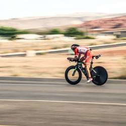 Hoffman flying on the bike in St. George (photo: FB)