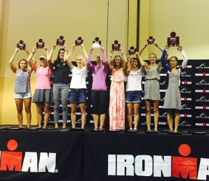 Ironman Texas Women's Award Ceremony (photo: M. LeBlanc)