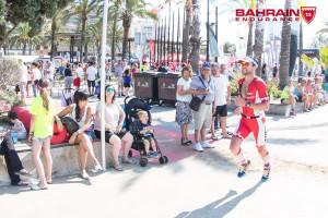 Joe Gambles on the run in Salou (Photo: Bahrain Endurance)