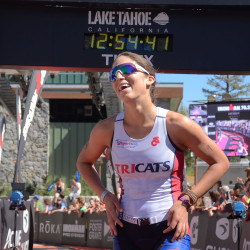 Erica Clevenger wins Ironman 70.3 Lake Tahoe