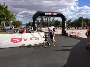 Scott on the bike (photo by R. Carroll)