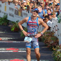 Tim O'Donnell in Kona (photo by K. McFarland)
