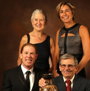 Sir Lindley Inducted to USAT Hall of Fame