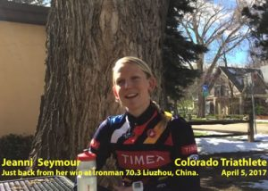 Video: Jeanni Seymour On Her Win at IRONMAN 70.3 Liuzhou