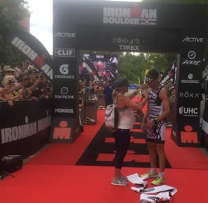 O'Donnell Dominates Ironman Boulder