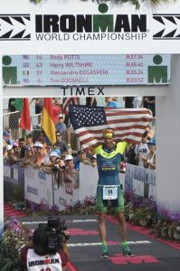 Another Top-Ten, Top-American Finish for Potts at the Ironman World Championship