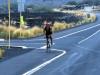 Cameron Widoff battles the elements on the Queen K Highway