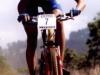 Pat Brown on the bike