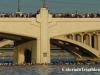 Water under the bridge: 2006 Ironman Arizona swim start