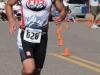 Steve Ucello on the run