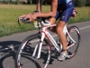 Two-time World Ironman Champion, Chrissie Wellington, on the bike and run