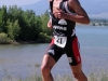 Tim O\'Donnell claimed the swim prime, bike prime...and finally, the run prime