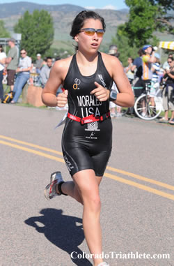 Bryn Morales Finished Seventh Overall In The Womens Race