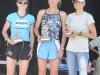 The women\'s podium 1st - Teri Cady (middle) 2nd - Steph Popelar (left) 3rd - Amanda Durner (right)