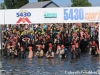 The start of the 5430 Sprint Triathlon
