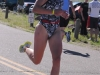Teri Cady runs to victory in the women\'s race