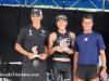 The men\'s podium 1st - Simon Thompson (middle) 2nd - Mark Van Akkeren (left) 3rd - Marek Dvorak (right)