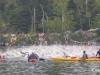 The 2009 Ironman USA gets underway