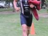 Mark Van Akkren smoked the swim in 18:05