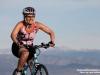 Sarah Post on the bike