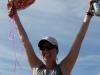 Claire LeCuyer celebrates