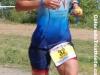 Lisa Marangon runs to a top three finish