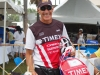 Barry Siff at Friday\'s bike turn-in