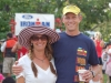 Curt and Lisa Chesney celebrate Curt\'s world champion title in the 40-44 age group