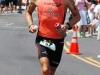 Michael Lovato runs the marathon