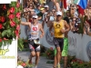 Tim DeBoom and Normann Stadler cross the finish