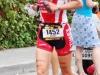 Wendy Mader runs to a 10:58:36 finish