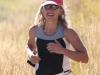 Teresa Nelson runs strong