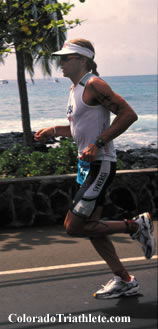Lovato at Hawaii Ironman 2002