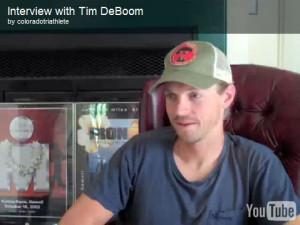 Interview with Tim DeBoom
