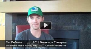 Tim DeBoom Talks About Winning the Norseman Xtreme Triathlon