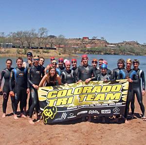 CU Triathlon Team