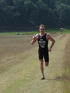Seth Wealing on the run